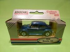 EDOCAR 008 VW VOLKSWAGEN BEETLE KAFER 1968 - BLUE  1:50? - NEAR MINT IN BOX