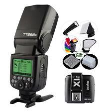 GODOX TT685S + Flash Trigger X1T-S Transmitter TTL 2.4G HSS Speedlite for Sony