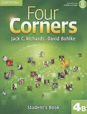 Four Corners Level 4 Student's Book B with Self-study CD-ROM-ExLibrary