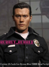 1/6 Lee Byung-Hun Terminator T1000 Head Sculpt For Hot Toys Figure SHIP FROM USA