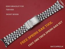 SEIKO JUBILEE ORIGINAL 22MM BRACELET FOR 7S26-0020 SKX007 K2 SKX009 K2 7002-700
