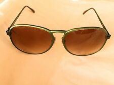 RARE GREEN LAMBORGHINI 1980 ALUMINUM   ITALIAN  SUNGLASSES   NEW & NEVER SOLD!!