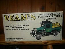 """BEAM'S.1928-29.MODEL """"A"""" FORD PICKUP TRUCK.REGAL CHINA.LIQUOR DECANTER.IN BOX."""