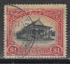 Malaya: Kedah Scott 42 Used (Catalog Value $80.00)