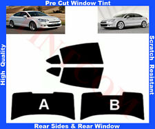 Pre Cut Window Tint Citroen C5 4D 2008-2012 Rear Window & Rear Sides Any Shade