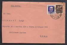 POSTA MILITARE 1943 Lettera PA da PM 22 a Roma (MB)