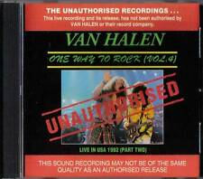"Van Halen""One Way To Rock(Vol.4)""Live in USA 1988 CD AUSTRALIA SEALED"