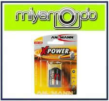 Ansmann X-Power 9V Alkaline Battery (1 Piece)
