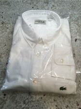 NWT LACOSTE MEN SHIRT Sz 2XL Regular Fit
