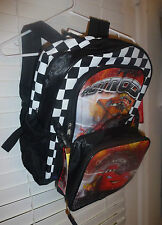 DISNEY'S PIXAR CARS MCQUEEN BACKPACK & LUNCH TOTE~NEW~BACK TO SCHOOL & TRAVEL