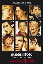 QUEER AS FOLK Movie POSTER 27x40 D Michelle Clunie Robert Gant Thea Gill Gale