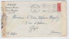 Double censored preferred surface 3c rate ** FRANCE ** 1941 Canada cover