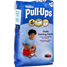 ✿ 72 Couches Culottes Huggies Pull Ups Garcon taille L ✿
