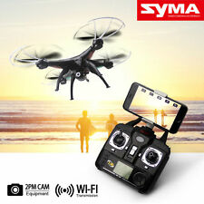 Syma X5SW Wifi FPV 2.4Ghz 4CH RC Quadcopter Drone with 2MP HD Camera RTF Black