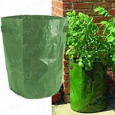 LARGE VEGETABLE & POTATO PLANTER With Handle Conservatory/Deck/Patio Grow Bag