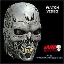 Terminator Endoskull T800 Latex Collectors Mask - HALLOWEEN Horror Film/Movie
