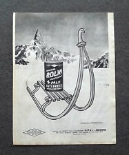 H195 - Advertising Pubblicità - 1962 - ROLIN MULTIGRADE + PALF , ANTIGELO