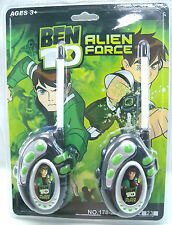 WALKIE TALKIE BEN 10 ALIEN FORCE RADIO PHONE TOY SUPERHERO CARTOON