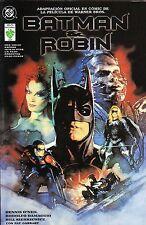BATMAN & ROBIN adaptación de la pelicula, prestigio número único, VID.