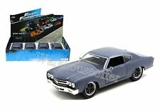 JADA 1:24 DISPLAY FAST & FURIOUS DOM'S 1969 CHEVROLET CHEVELLE SS Diecast 97308