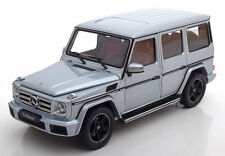 I-SCALE 2016 Mercedes Benz G Klasse W463 Silver Dealer Edition 1:18*New Item!