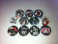 11 The Who button badges 25mm Baba O'Riley Are You My Generation Tommy Seeker