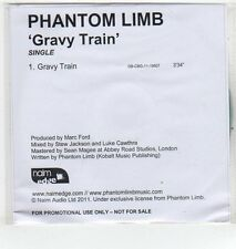 (ET369) Phantom Limb, Gravy Train - 2011 DJ CD