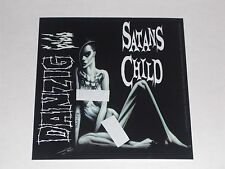 DANZIG satan's child STICKER **FREE SHIPPING** misfits samhain 6:66