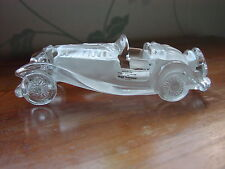 "Crystal Art Glass coche ""Mercedes 500 K"" Adorno/Pisapapeles"