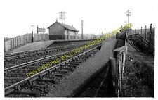 Bankhead Railway Station Photo. Bucksburn - Stoneywood. Aberdeen to Dyce. (1)