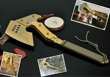 Hunting Campining Axe, Survival Tactical Tomahawk Axe, Fire Axe Hand Tool-A26