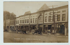 RARE Real Photo - Hilton NY 1920 RPPC STORE Street Monroe Co Rochester area