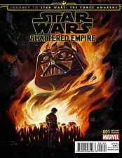 JOURNEY STAR WARS FORCE AWAKENS SHATTERED EMPIRE 1 DISPOSABLE HEROES VARIANT