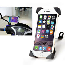 Universal Motorcycle Scooter Mount Holder Stand For Phone iphone Samsung Black