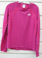 The North Face VAPORWICK Flight Series Magenta LS Thermal Sporty Top Wms Lg