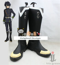 Seraph of the End:Vampire Reign Mitsuba Sangū Yoichi Saotome Shoes Cosplay Boots