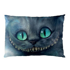 New Alice in Wonderland Cat for pillow case one side cover free shipping