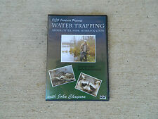 DVD, Chagnon-Water Trapping Beaver, Otter, Mink, Muskrat & Coon, traps, trapping