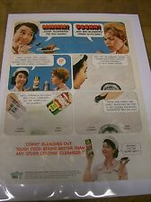Original 1967 Comet Cleanser Magazine Ad with Josephine The Plumber