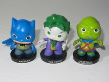 DC Comics Little Mates Small Toy Figure Set  BATMAN, JOKER & MARTIAN MANHUNTER