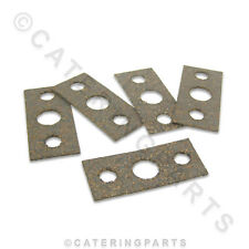 PACK OF 5 x CORK FIBRE GASKETS FOR ROBERTSHAW TGJ GAS VALVES / OVEN THERMOSTATS
