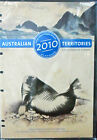2010 Australian Territories Complete Collection of Stamps