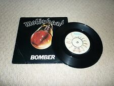 MOTORHEAD - BOMBER 7 INCH SINGLE / VINYL / RECORD / 45rpm