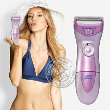 HS-3001 Women Lady Electric Shaver Wet Dry Bikini Hair Remover Cordless Trimmer