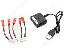 5en1 Chargeur 5 Câble de Charge Pour Syma X5 X5C,UDI 818A,Hubsan,DFD F180,WLToys