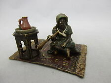 """antike Wiener Bronze """" Araber auf Teppich"""""""
