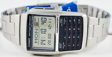 Casio DBC-32D-1A Steel Databank Watch Calculator Illuminator 25 Page BRAND NEW