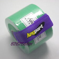 1 roll Green 5m x 5cm Kinesiology Muscle Care Tape Sports Taping Method Waist