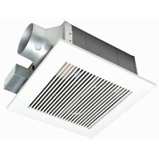 Panasonic Quiet 80 or 110 CFM Ceiling Low Profile Dual Speed Bath Fan BATH FANS