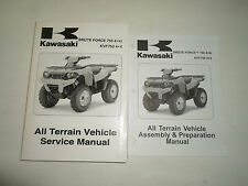 2008 Kawasaki Brute Force 750 4x4i KVF750 4x4 ATV Service Manual 2 VOLUME SET 08